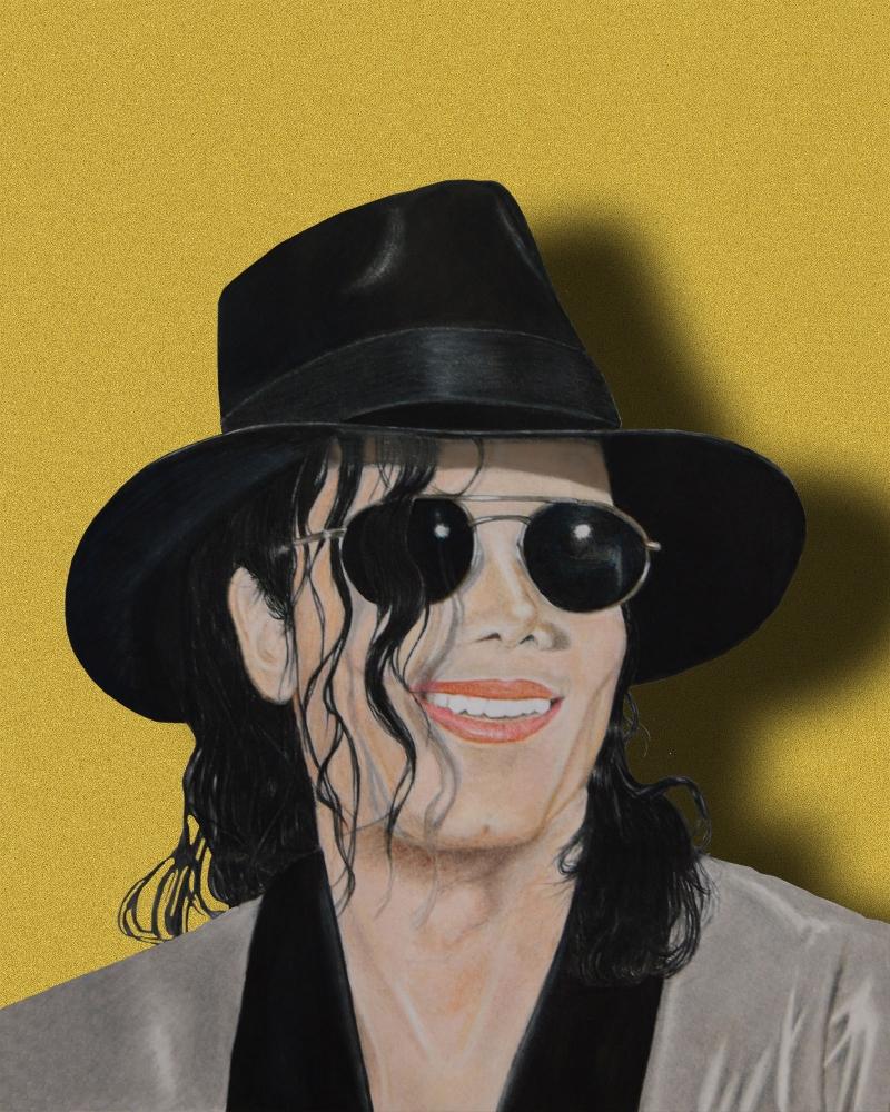 Michael Jackson by aljentart